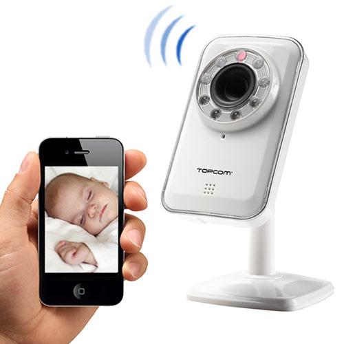 Camara de Vigilancia Ip Inalambrica Android & Ios TopCom NS6750 I4010118