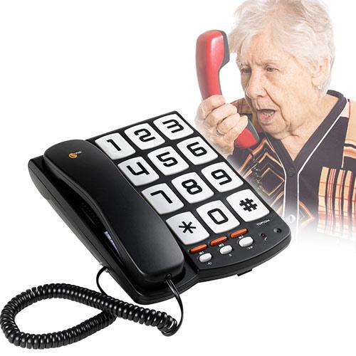 Telefono Teclas Grandes TopCom Sologic T101 I3000302