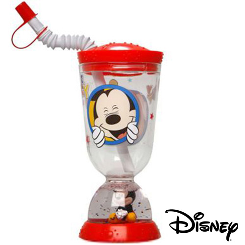 Vaso Base con Pajita Disney 275 ml H4502011
