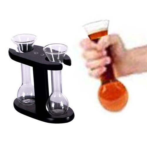 Set de 2 chupitos Mini Yard Glass H2500173