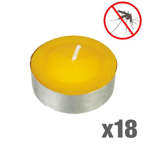Velas de Citronela Antimosquitos (pack de 18) D0500135