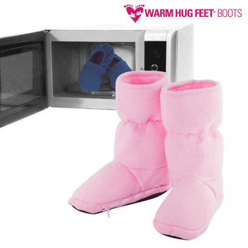 Botas Calentables Microondas Warm Hug Feet Morado M F1520252