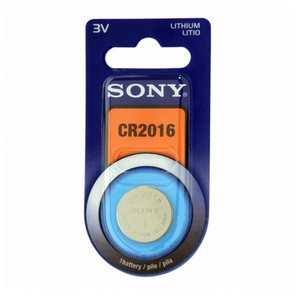 Batteria a Bottone a Litio Sony CR2016B1A 3 V 90 mAh Grigio
