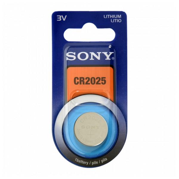 Pila de Botón de Litio Sony CR2025B1A CR2025B1A 3 V 160 mAh Azul