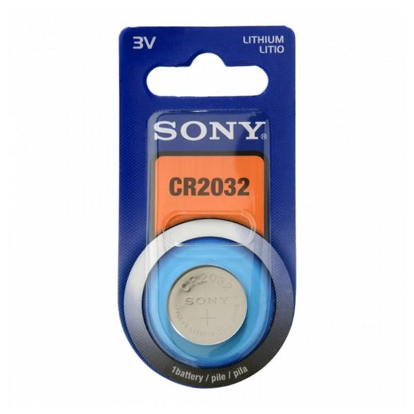 Batteria a Bottone a Litio Sony CR2032B1A 3 V 220 mAh Grigio