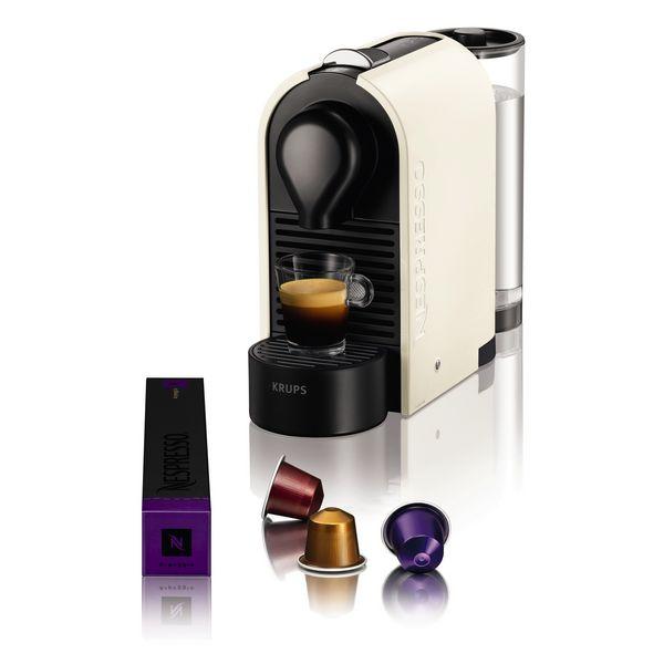 Krups U XN2501 Pod coffee machine 0.7L Cream