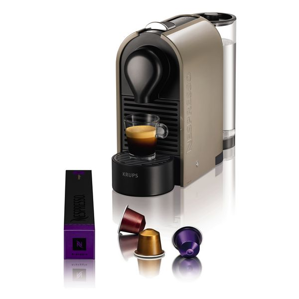 Krups U XN250A Pure Grey Pod coffee machine 0.7L Taupe