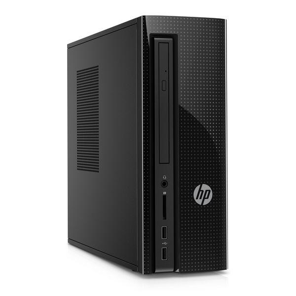 PC de Sobremesa HP 260-P100NS Intel Core i3-6100T 1 TB HDD 4 GB RAM Windows 10 Negro
