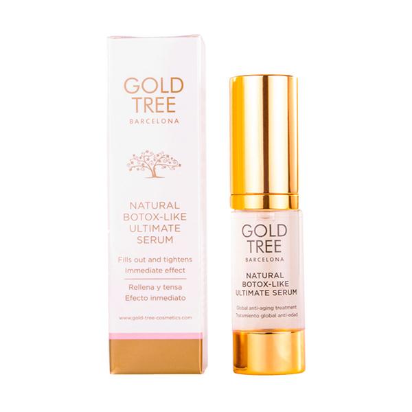 Sérum Facial Natural Botox Gold Tree Barcelona