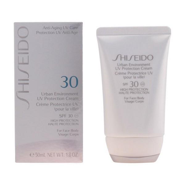 Krema za Sončenje za Obraz Urban Environment Shiseido Spf 30 (50 ml)