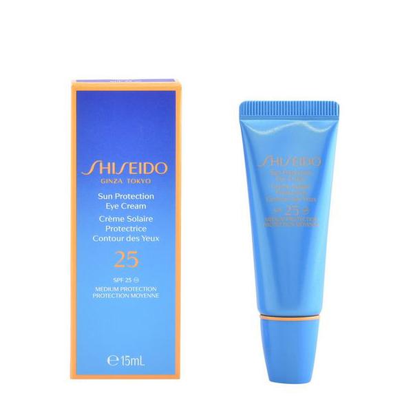 Crema per il Contorno Occhi Sun Protection Shiseido SPF 25 (15 ml)