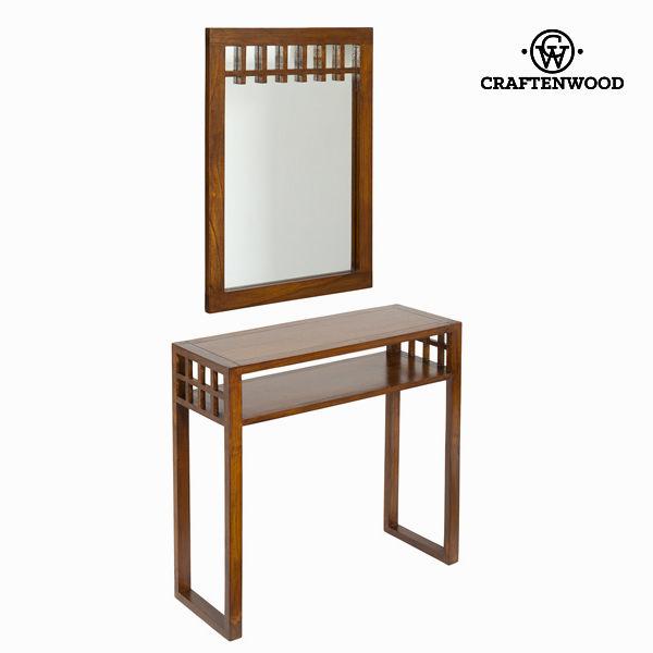 Recibidor con espejo colonial - Colección Serious Line by Craftenwood