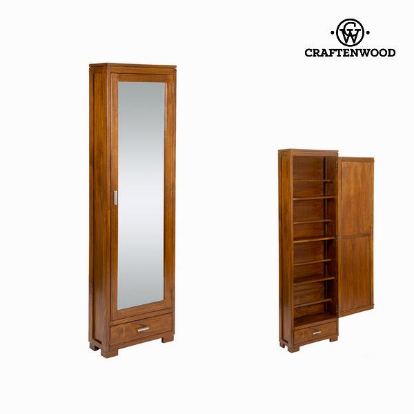 Zapatero con puerta de espejo - Colección Serious Line by Craftenwood