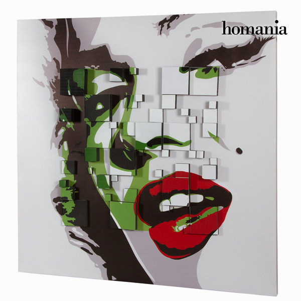 Cuadro 3d marilyn by Homania