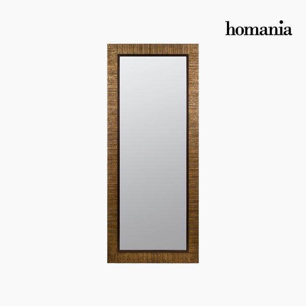 Espejo marco oro plano by Homania