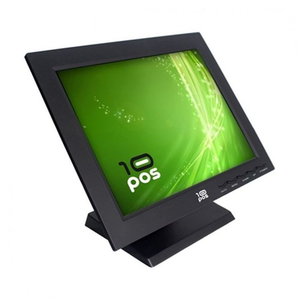Monitor con Touch Screen 10POS FMOM150012 TS-15V TFT LCD 15