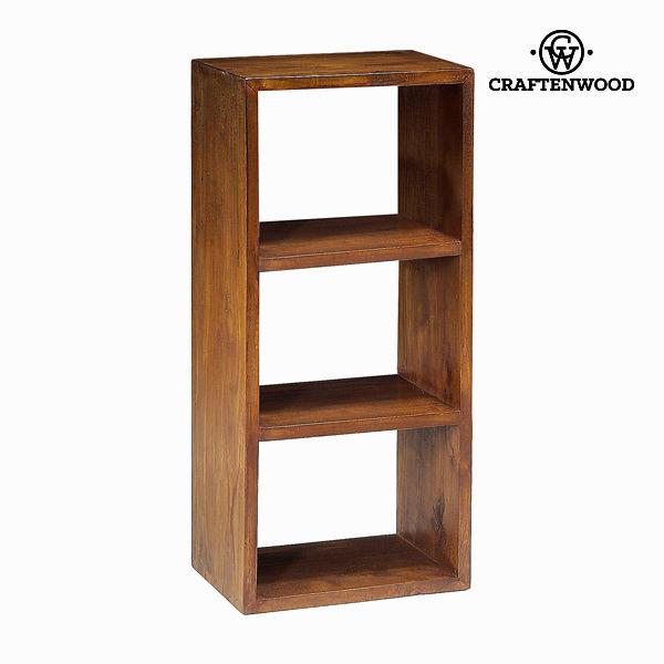 Estantería 3 modulos nogal - Colección Serious Line by Craftenwood