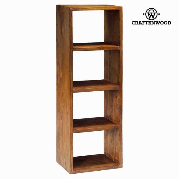 Estantería 4 módulos nogal - Colección Serious Line by Craftenwood