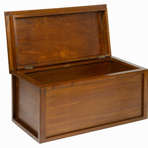 Juego de 2 baúles en madera - Colección Let's Deco by Craftenwood (2)