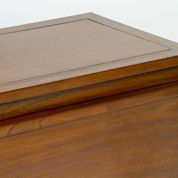 Juego de 2 baúles en madera - Colección Let's Deco by Craftenwood (1)