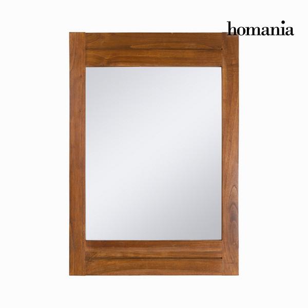 Specchio Legno di mindi (100 x 70 cm) - Be Yourself Collezione by Homania