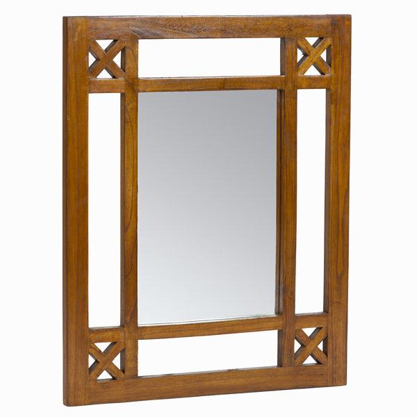 Recibidor rústico con espejo - Colección Serious Line by Craftenwood (1)