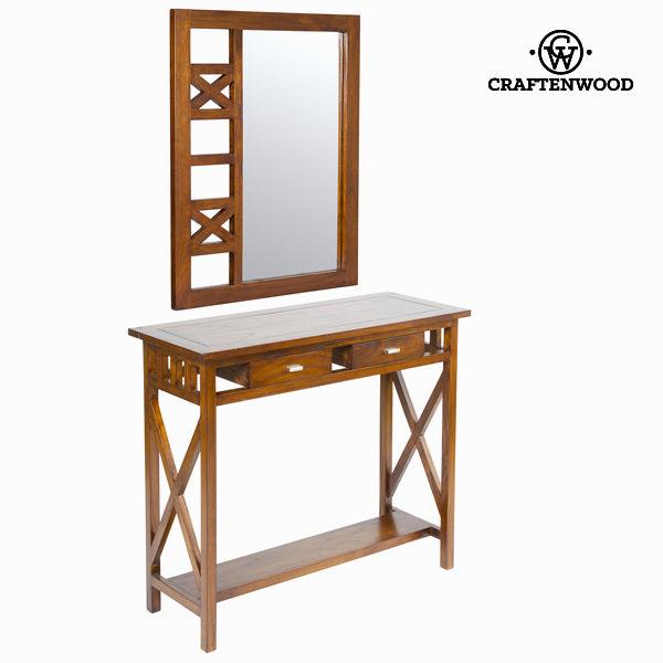 Console ingresso rustico con specchio - Serious Line Collezione by Craftenwood