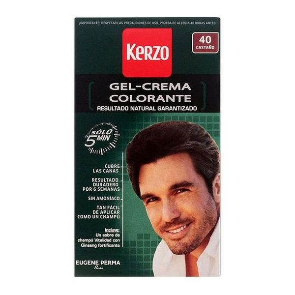 Barva za lase brez amonijaka Kerzo Kostanj