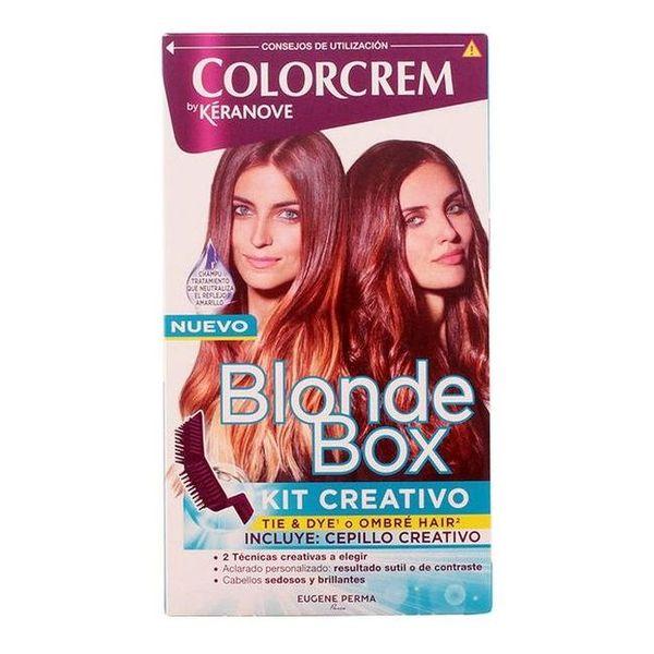 Postopno svetlenje las Blonde Box Kit Eugene Perma