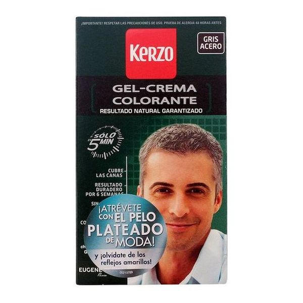 Barva za lase brez amonijaka Kerzo Jekleno siva