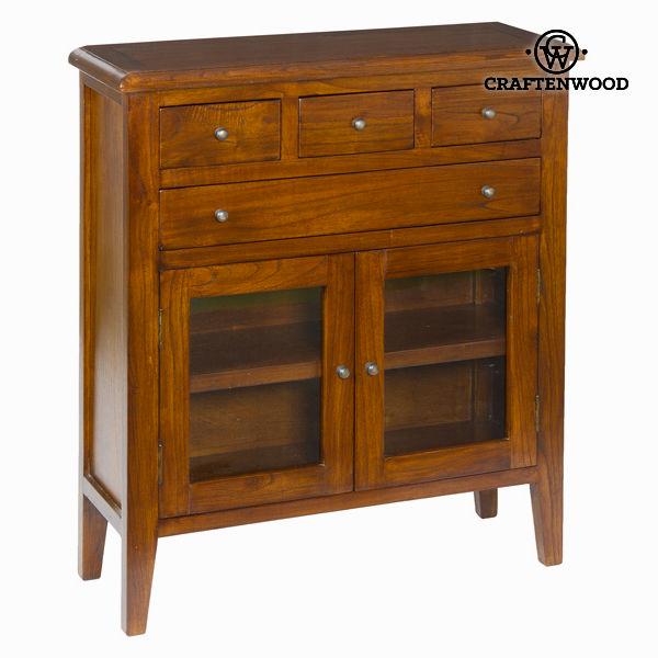 Konzolna mizica s 4 predale in 2 vrati - Serious Line Zbirka by Craften Wood