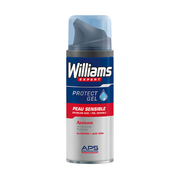 Gel de Afeitar Protect Williams