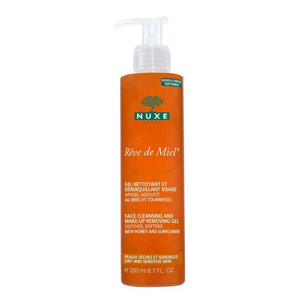 Gel Detergente Schiumoso R�ve De Miel Nuxe (200 ml)