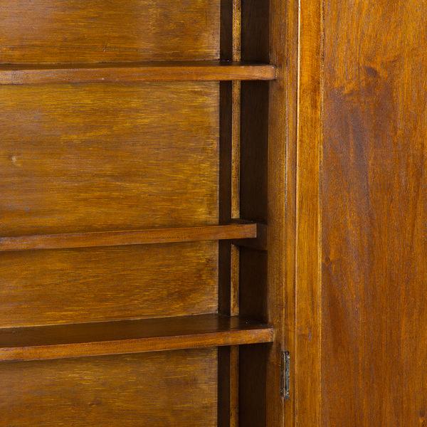 Zapatero con puerta de espejo - Colección Serious Line by Craftenwood (2)
