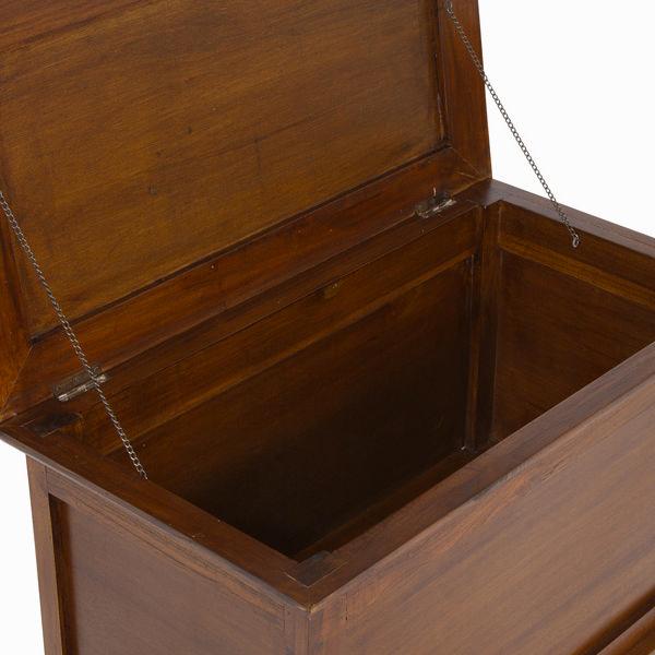 Baúl de madera color marrón - Colección Let's Deco by Craftenwood (2)