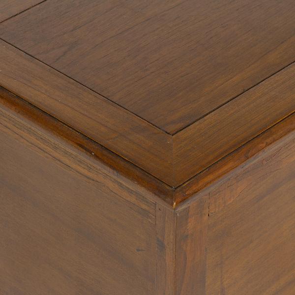 Baúl de madera color marrón - Colección Let's Deco by Craftenwood (1)