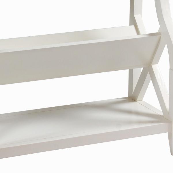 Mueble revistero color blanco - Colección Serious Line by Homania (2)