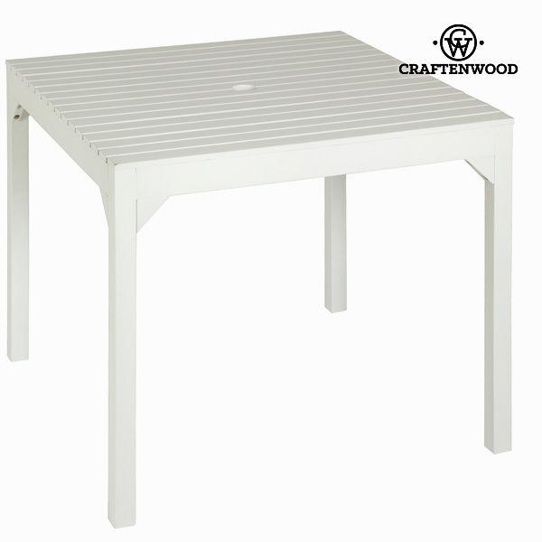 Kvadratna miza za pod senčnik by Craften Wood