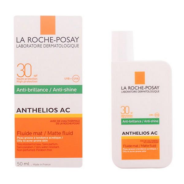 Tekoče sredstvo za zaščito pred soncem Anthelios Ac La Roche Posay Spf 30 (50 ml)
