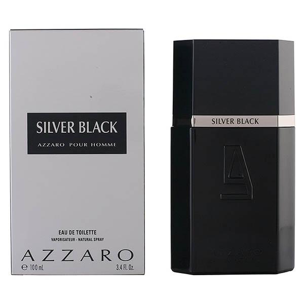 Perfume Hombre Silver Black Azzaro EDT