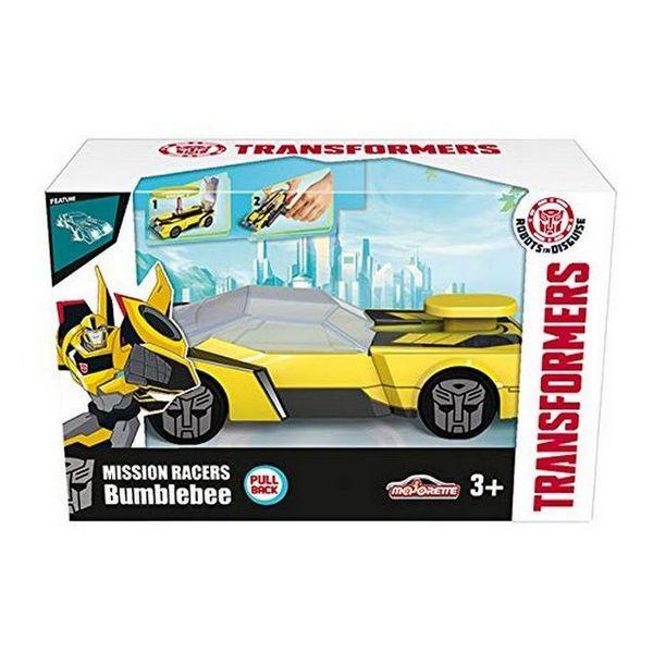 Coche Transformers con Lanzadera Hasbro 213112001 Majorette Bumblebee 11 cm (OpenBox)