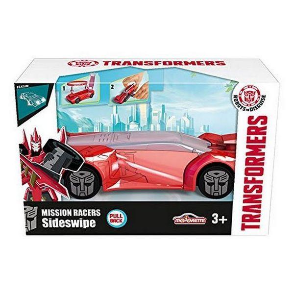 Coche Transformers con Lanzadera Hasbro 213112002 Majorette 11 cm (OpenBox)