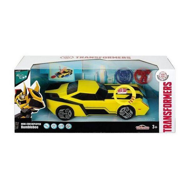 Vehículo Mecánico Transformers Hasbro 213114003 Majorette Bumblebee 20 cm (OpenBox)