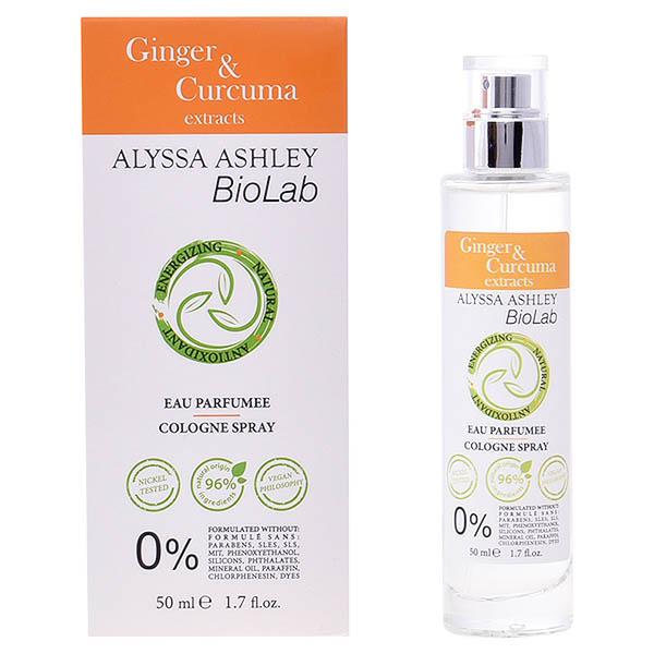 Perfume Mujer Biolab Ginger & Curcuma Alyssa Ashley EDC