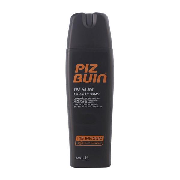 Zaščitni sprej za sonce In Sun Piz Buin Spf 15 (200 ml)