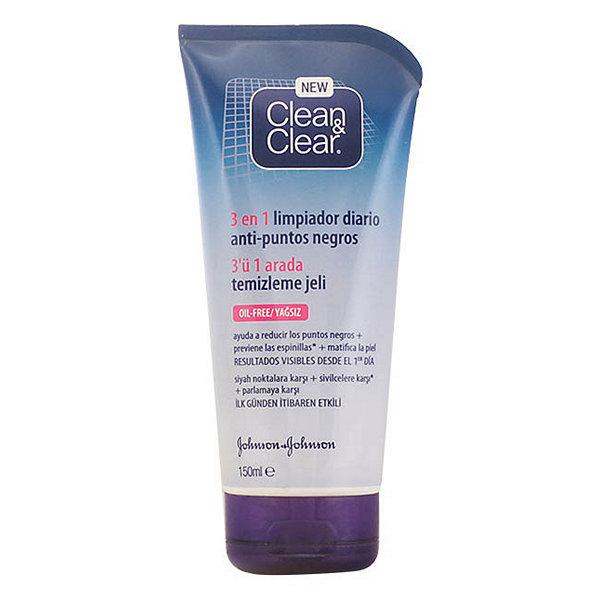 Gel Limpiador Facial Clean & Clear Puntos Negros Clean & Clear