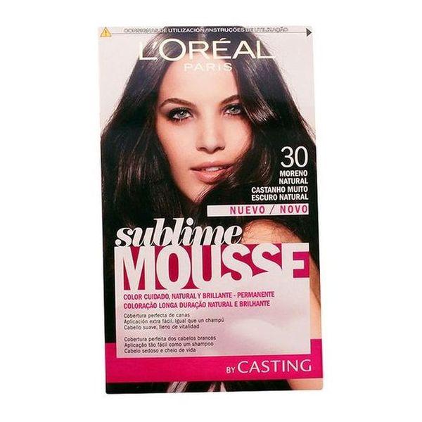 Obstojna barva Sublime Mousse Casting