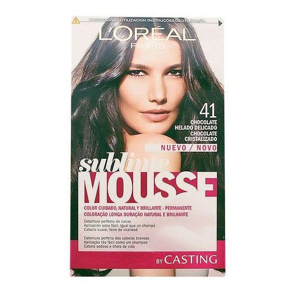 Obstojna barva Sublime Mousse Casting Hladno čokoladna