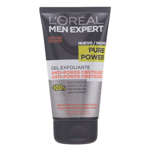 Gel Exfoliante Facial Men Expert L'Oreal Make Up