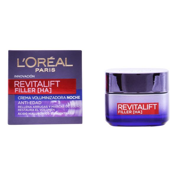 Crema de Noche Revitalift Filler L'Oreal Make Up